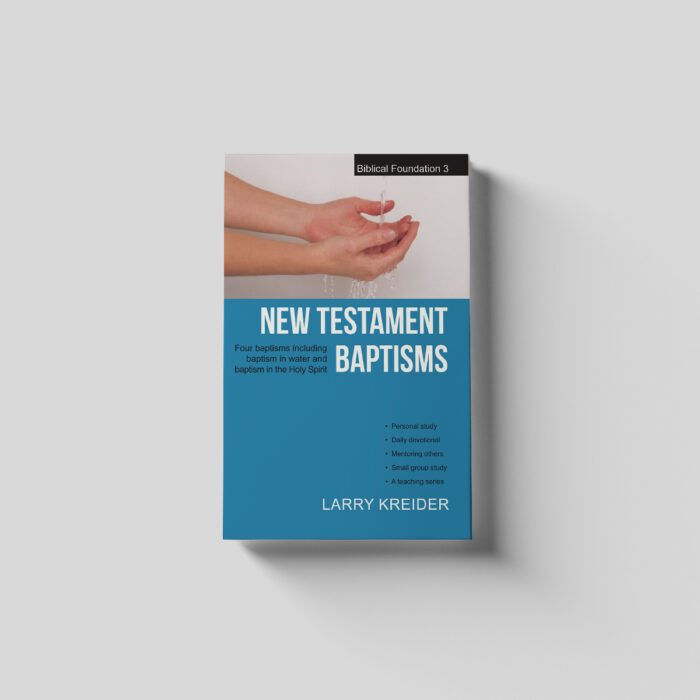 New Testament Baptisms