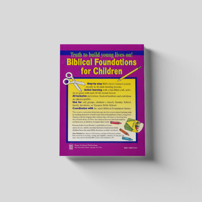 Biblical Foundations For Children