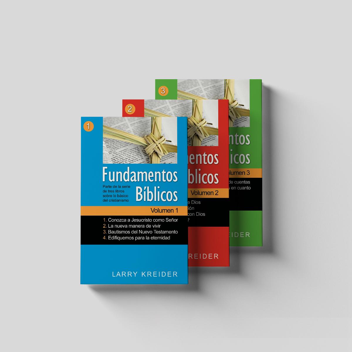 Biblical Foundations Spanish 3 Volume Set