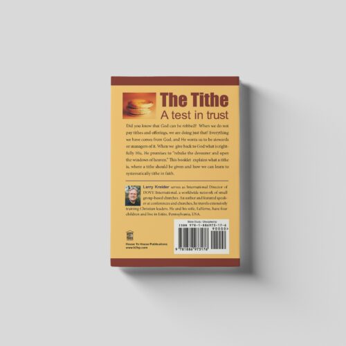 The Tithe a Test in Trust