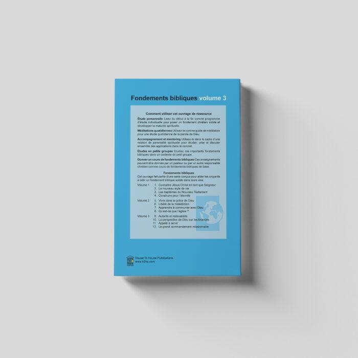 Fondements bibliques volume 3 - French